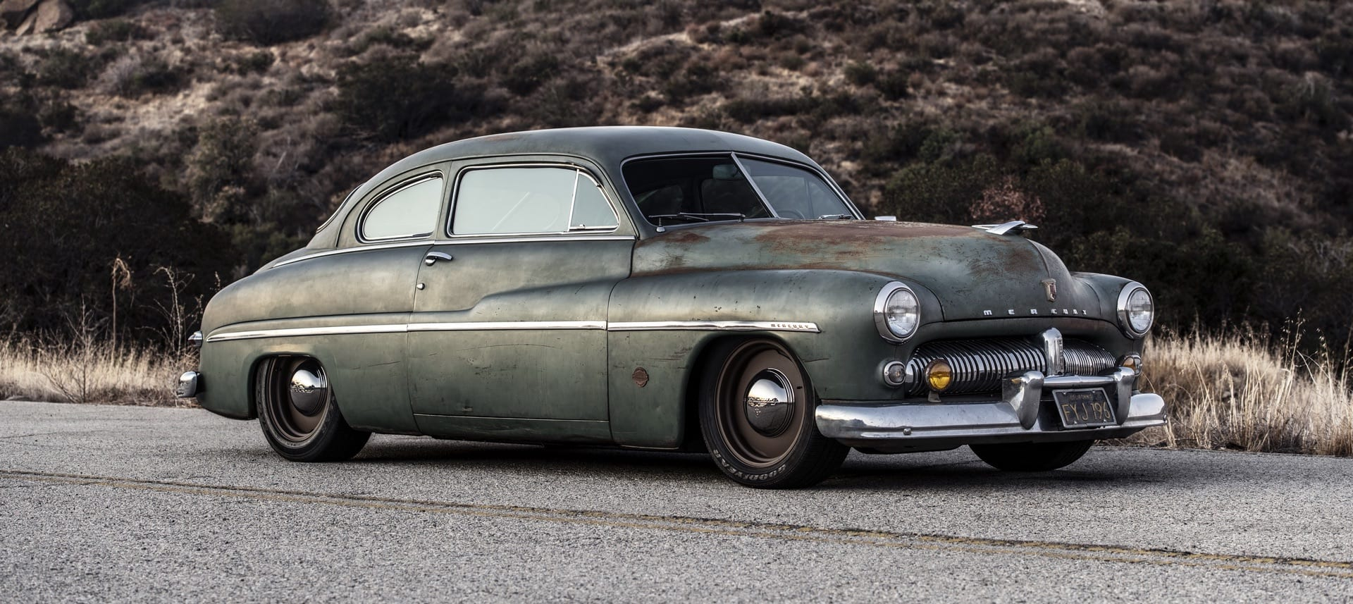 Icon's 1949 Mercury Coupe EV