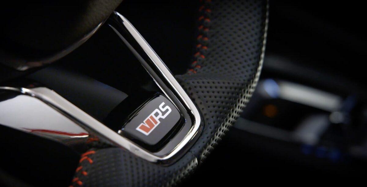 Skoda Octavia RS iV Steering Wheel