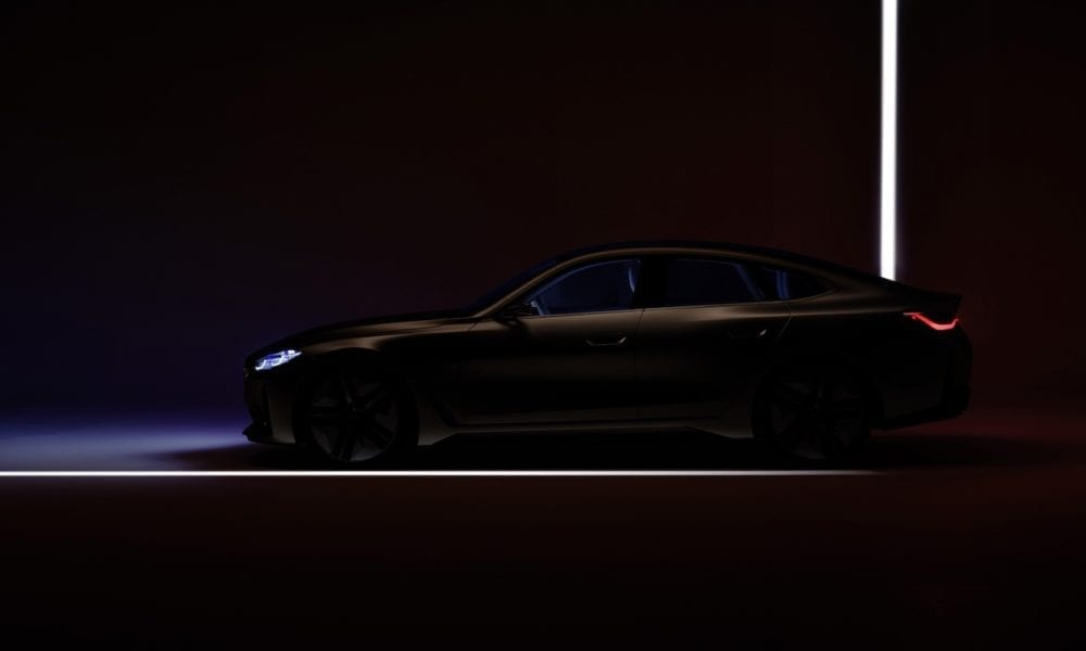 BMW i4 Gran Coupe All Electric Teaser